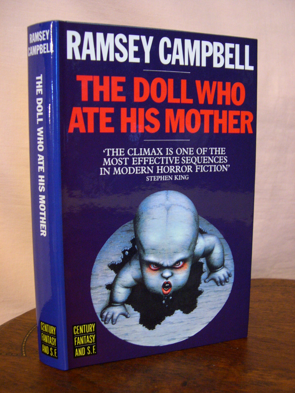 Image result for the doll who ate his mother ramsey campbell