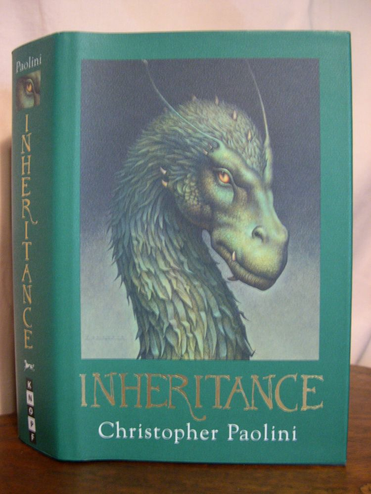 INHERITANCE, OR THE VAULT OF SOULS: INHERITANCE BOOK FOUR. Christopher Paolini.