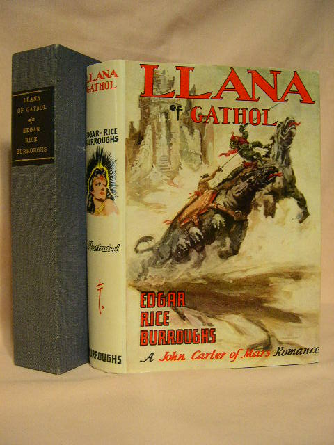 LLANA OF GATHOL. Edgar Rice Burroughs.