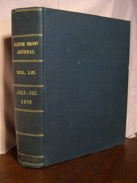 ELECTRIC RAILWAY JOURNAL; VOLUME 56, JULY TO DECEMBER, 1920