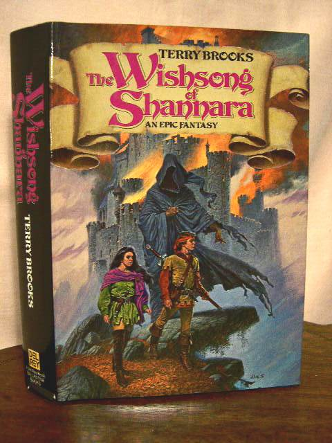 THE WISHSONG OF SHANNARA. Terry Brooks.