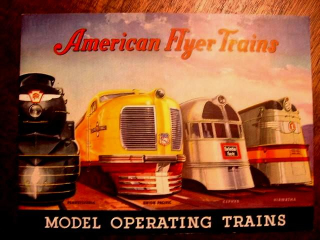 AMERICAN FLYER TRAINS: MODEL OPERATING TRAINS