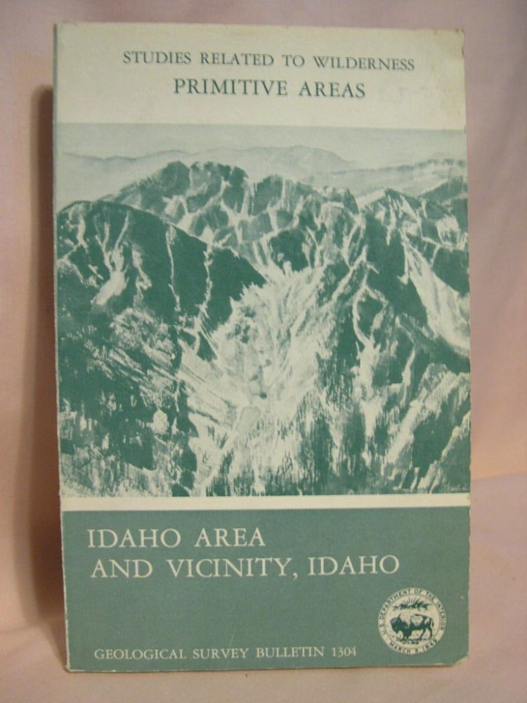 MINERAL RESOURCES OF THE IDAHO PRIMITIVE AREA AND VICINITY, IDAHO; a section on THUNDER MOUNTAIN DISTRICT; section on AEROMAGNETIC INTERPRETATION; GEOLOGICAL SURVEY BULLETIN 1304. F. W. Cater.