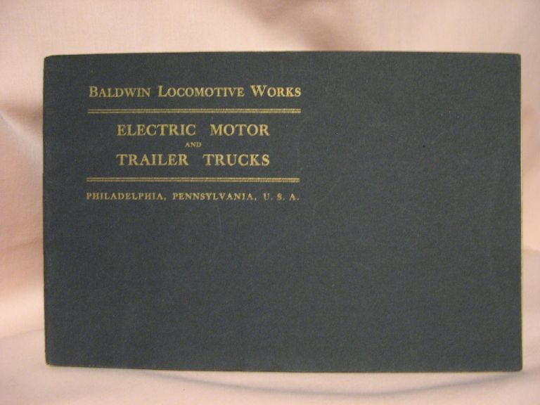 ELECTRIC MOTOR AND TRAILER TRUCKS
