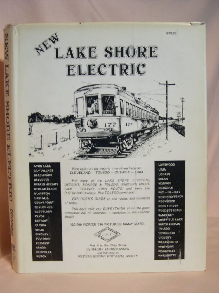 NEW LAKE SHORE ELECTRIC: TROLLEY TRAILS VOL. 4. Harry Christiansen.