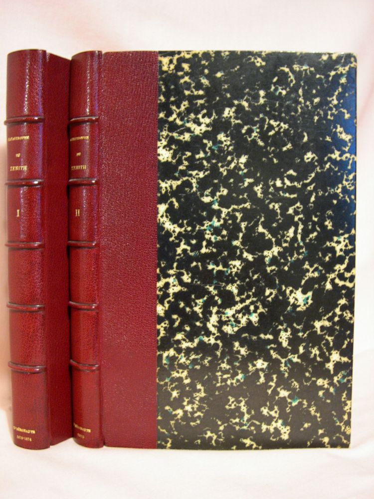 L'AÉRONAUTE, BULLETIN MENSUEL INTERNATIONAL DE LA NAVIGATION AÉRIENNE: DIRGÉ PAR lE Dr. ABEL HUREAU DE VILLENEUVE. Nineteen issues DÉCEMBRE 1872 THROUGH DÉCEMBRE 1875. The binding title of the two volumes is COTASTROPHE DU ZENITH. Dr. Abel Hureau de Villenuve.