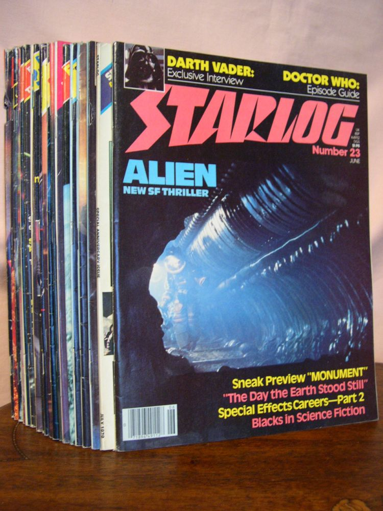 STARLOG, NUMBERS 23 - 42; 20 ISSUES