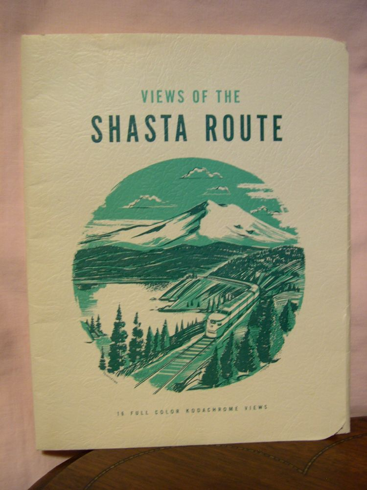 VIEWS OF THE SHASTA ROUTE; 16 FULL COLOR KODACHROME VIEWS