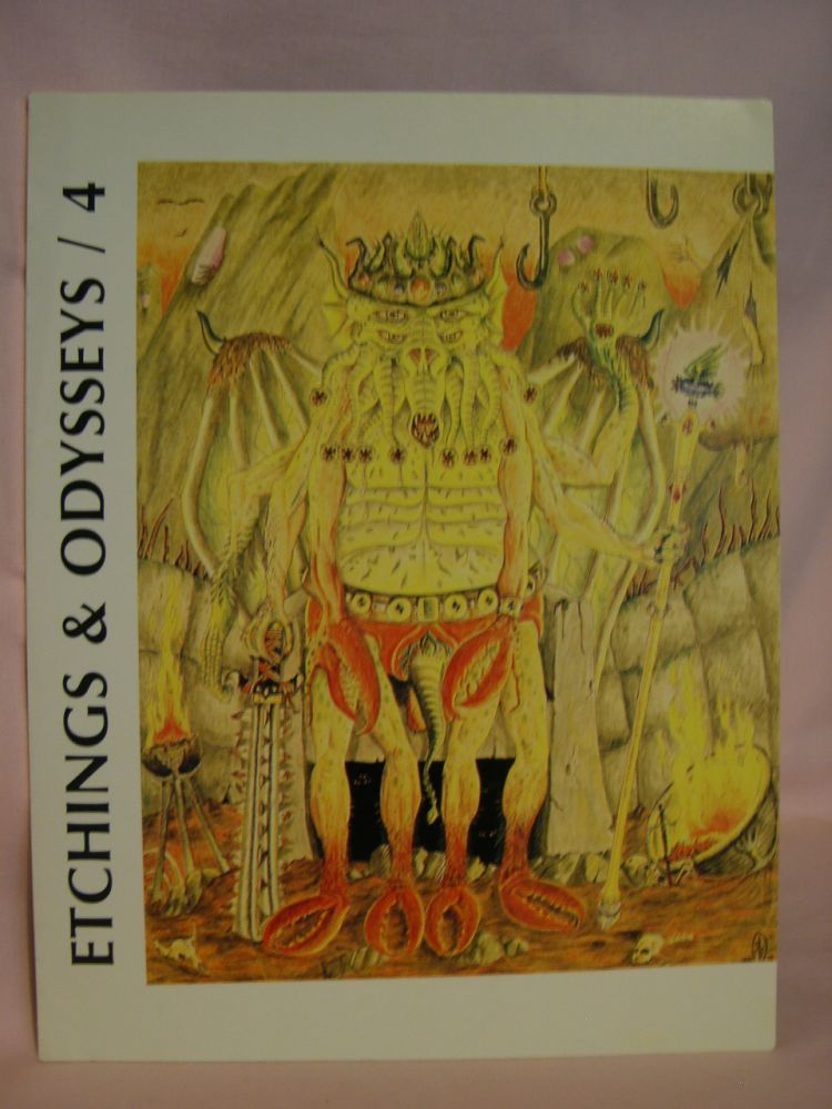 ETCHINGS AND ODYSSEYS 4; A SPECIAL TRIBUTE TO WEIRD TALES [HENRY KUTTNER ISSUE]. Eric C. Carlson, John J. Koblas, R. Alain Everts, Henry Kuttner.