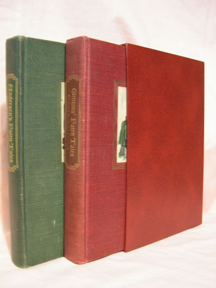 ANDERSEN'S FAIRY TALES and GRIMM'S FAIRY TALES. Two volume set. Hans Christian Andersen, Brothers Grimm.