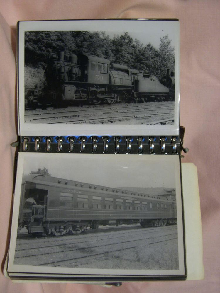 NEW YORK, ONTARIO & WESTERN and DELAWARE AND NORTHERN RAILROAD PHOTOGRAPHS