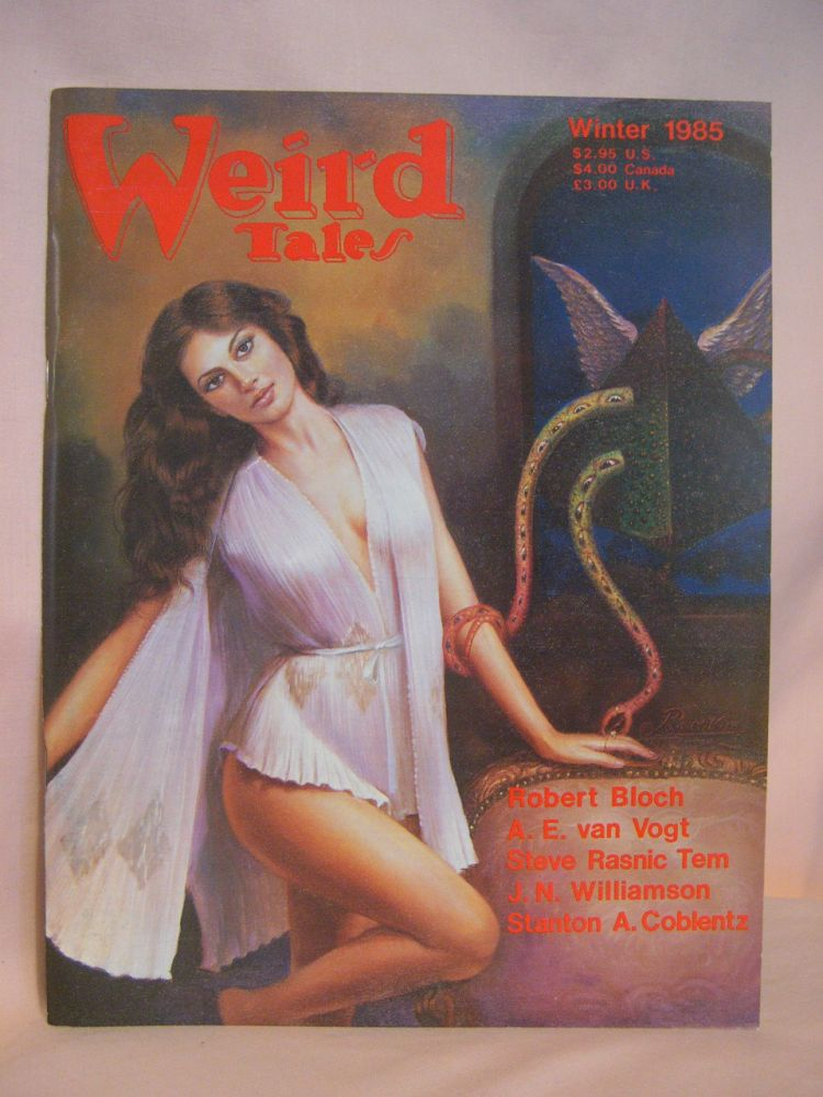 WEIRD TALES; WINTER 1985, VOLUME 49, NUMBER 2. Gordon M. D. Garb.