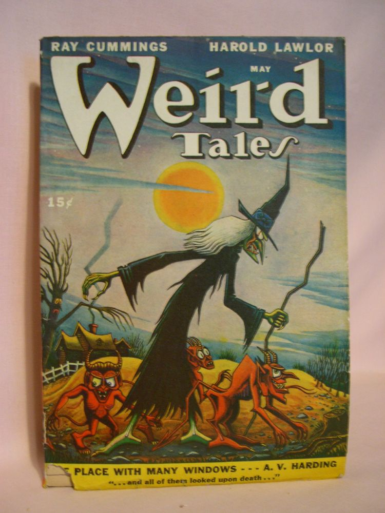 WEIRD TALES, MAY 1947; VOL. 39, NO. 11. D. McIlwraith.