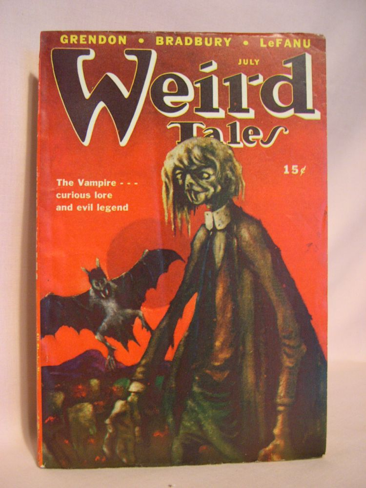WEIRD TALES, JULY 1947; VOL. 39, NO. 11. D. McIlwraith.