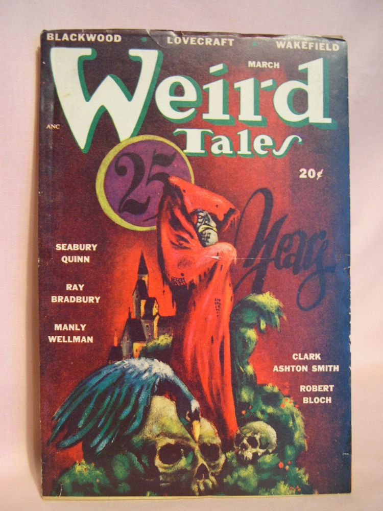 WEIRD TALES, MARCH 1948; VOL. 40, NO. 3. D. McIlwraith.