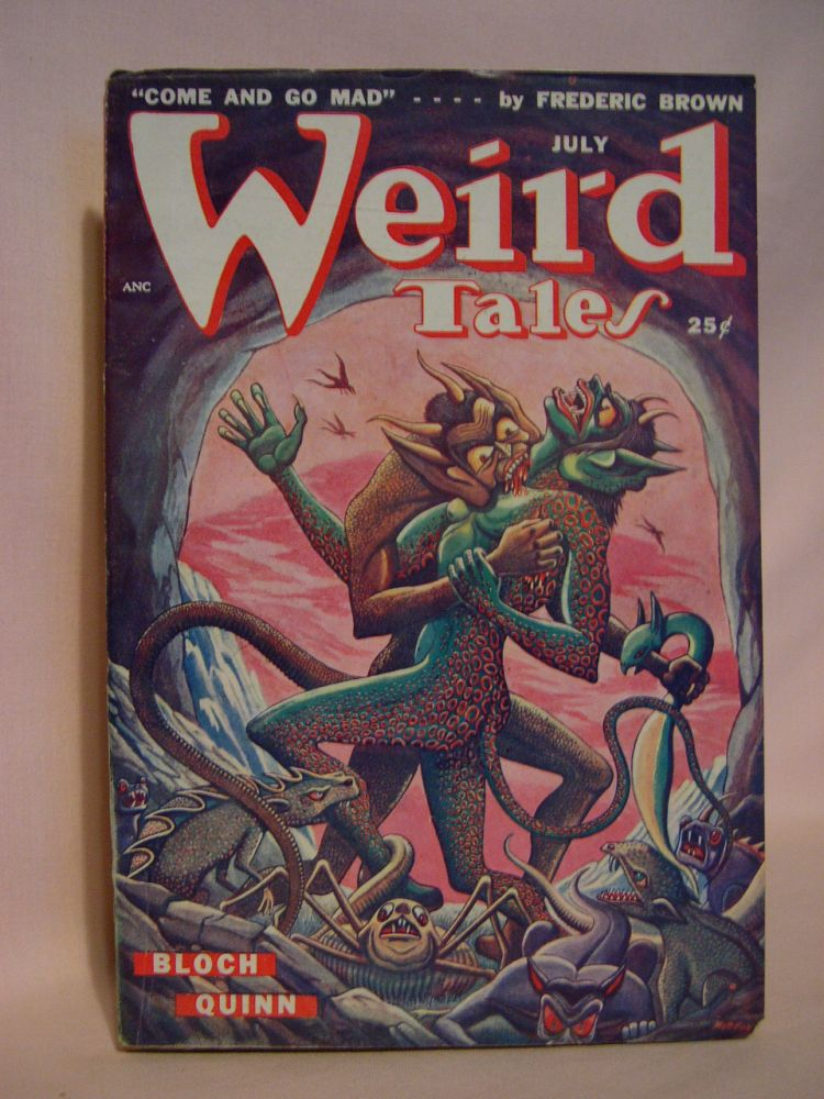 WEIRD TALES, JULY 1949; VOL. 41, NO. 5. D. McIlwraith.