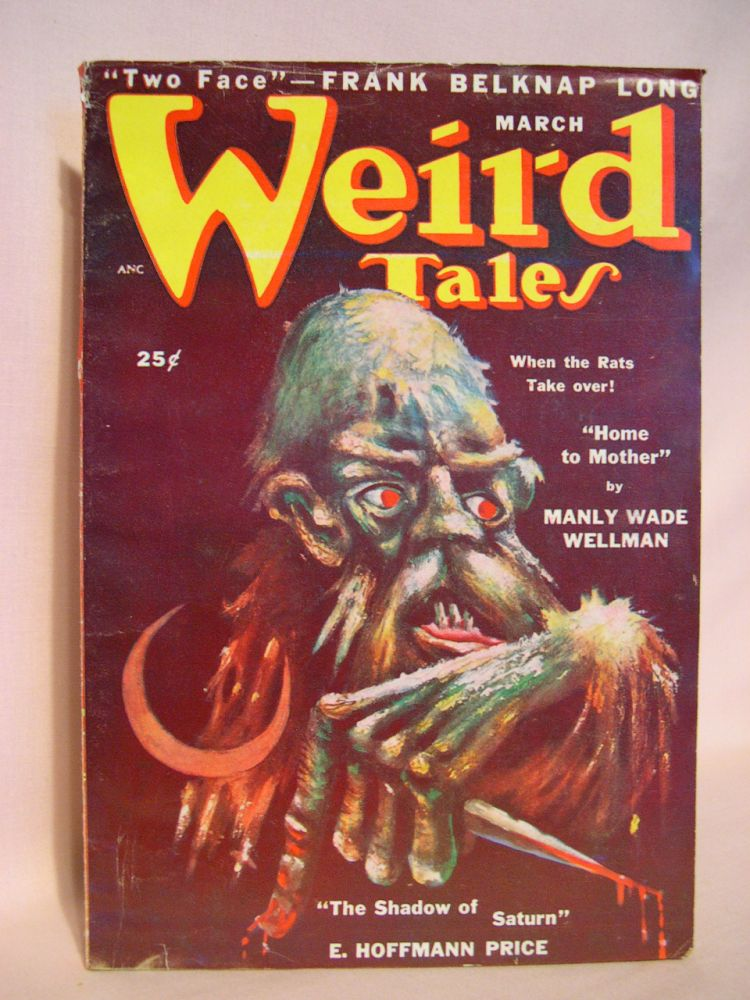 WEIRD TALES, MARCH 1950; VOL. 42, NO. 3. D. McIlwraith.
