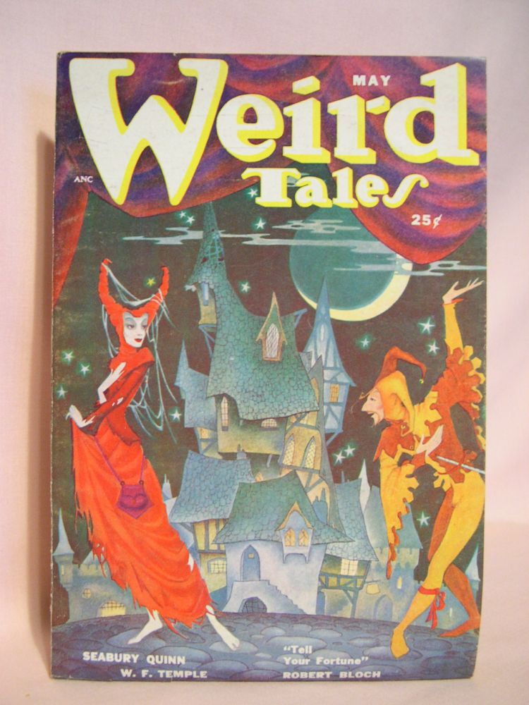 WEIRD TALES, MAY 1950; VOL. 42, NO. 4. D. McIlwraith.