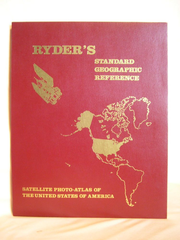RYDER'S STANDARD GEOGRAPHIC REFERENCE: THE UNITED STATED OF AMERICA