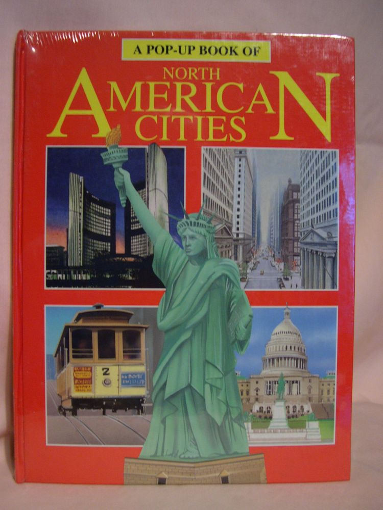 A POP-UP BOOK OF NORTH AMERICAN CITIES. Pat Pierce.