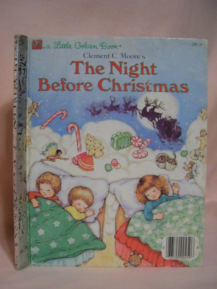 THE NIGHT BEFORE CHRISTMAS: A Dean Board Book. Clement Clarke Moore.