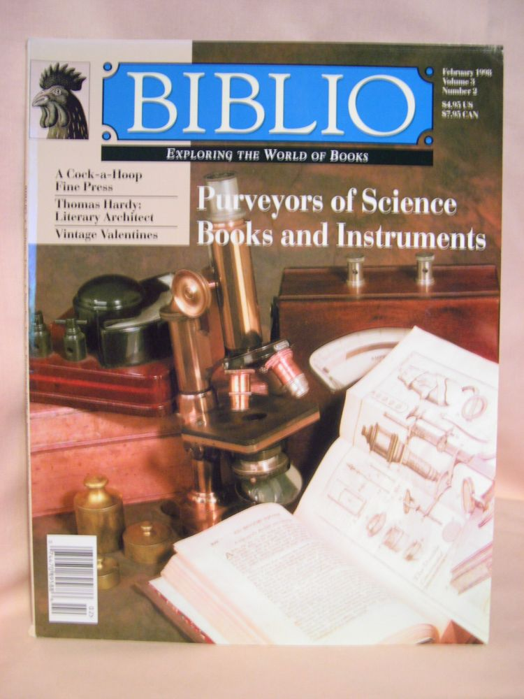 BIBLIO: THE MAGAZINE FOR COLLECTORS OF BOOKS, MANUSCRIPTS, AND EPHEMERA; VOLUME 3 NUMBER 2, FEBRUARY 1998. Colleen Sell.