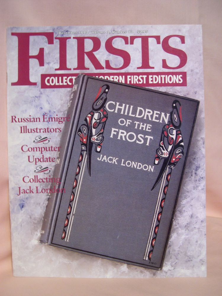 FIRSTS: COLLECTING MODERN FIRST EDITIONS; THE BOOK COLLECTOR'S MAGAZINE; OCTOBER, 1992 VOLUME 2, NUMBER 12. Kathryn Smiley.