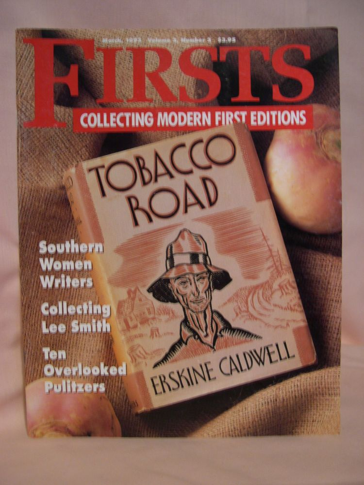 FIRSTS: COLLECTING MODERN FIRST EDITIONS; THE BOOK COLLECTOR'S MAGAZINE; OCTOBER, 1993 VOLUME 3, NUMBER 3. Kathryn Smiley.