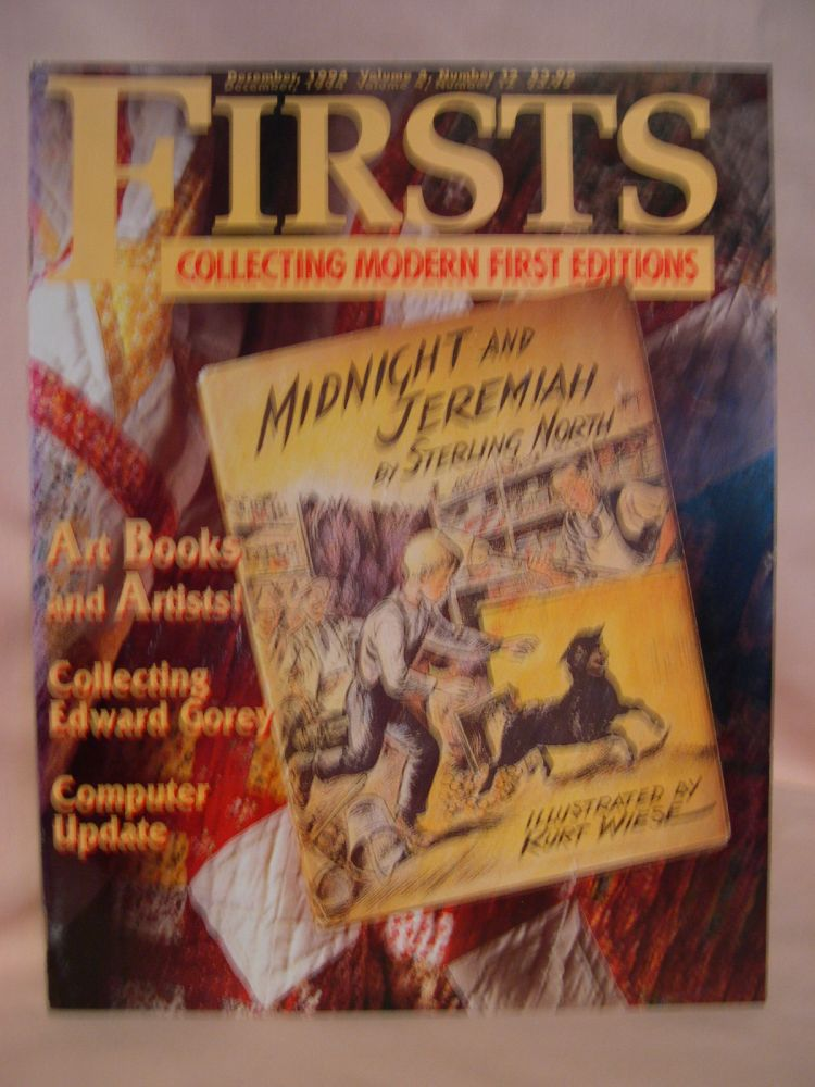 FIRSTS: COLLECTING MODERN FIRST EDITIONS; THE BOOK COLLECTOR'S MAGAZINE; OCTOBER, 1993 VOLUME 4, NUMBER 12. Kathryn Smiley.