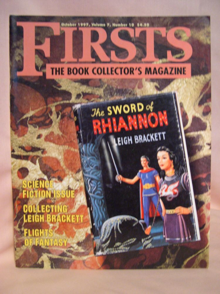FIRSTS: COLLECTING MODERN FIRST EDITIONS; THE BOOK COLLECTOR'S MAGAZINE; OCTOBER, 1997 VOLUME 7, NUMBER 10. Kathryn Smiley.