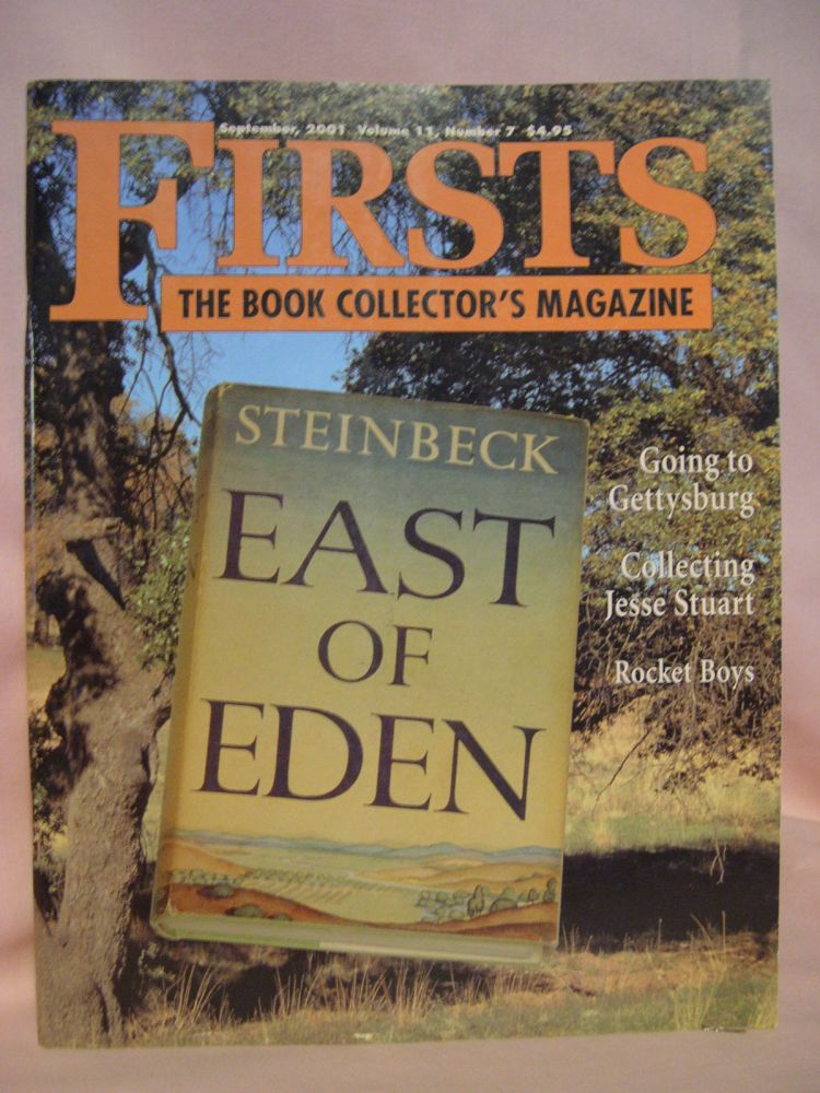 FIRSTS: COLLECTING MODERN FIRST EDITIONS; THE BOOK COLLECTOR'S MAGAZINE; OCTOBER, 2001 VOLUME 11, NUMBER 7. Kathryn Smiley.