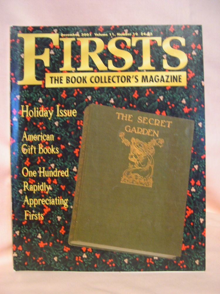 FIRSTS: COLLECTING MODERN FIRST EDITIONS; THE BOOK COLLECTOR'S MAGAZINE; OCTOBER, 2001 VOLUME 11, NUMBER 10. Kathryn Smiley.