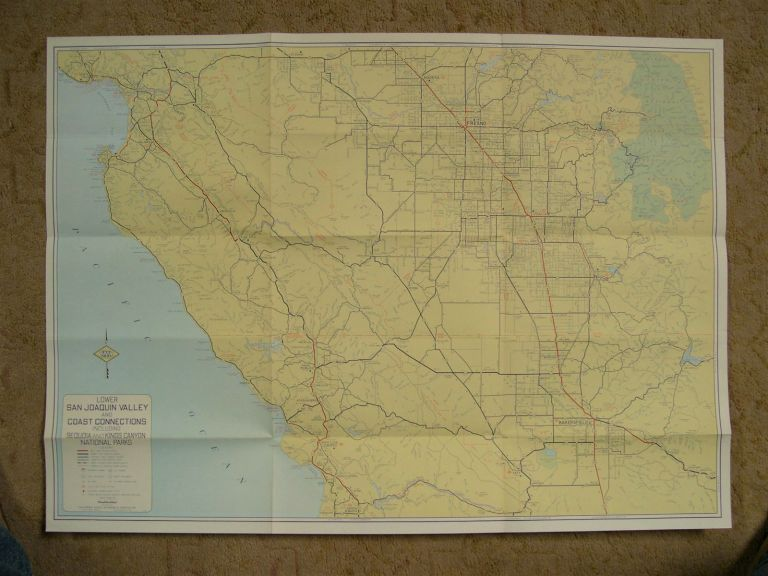 LOWER SAN JOAQUIN VALLEY AND COAST CONNECTIONS, INCLUDING SEQUOIA AND KINGS CANYON NATIONAL PARKS
