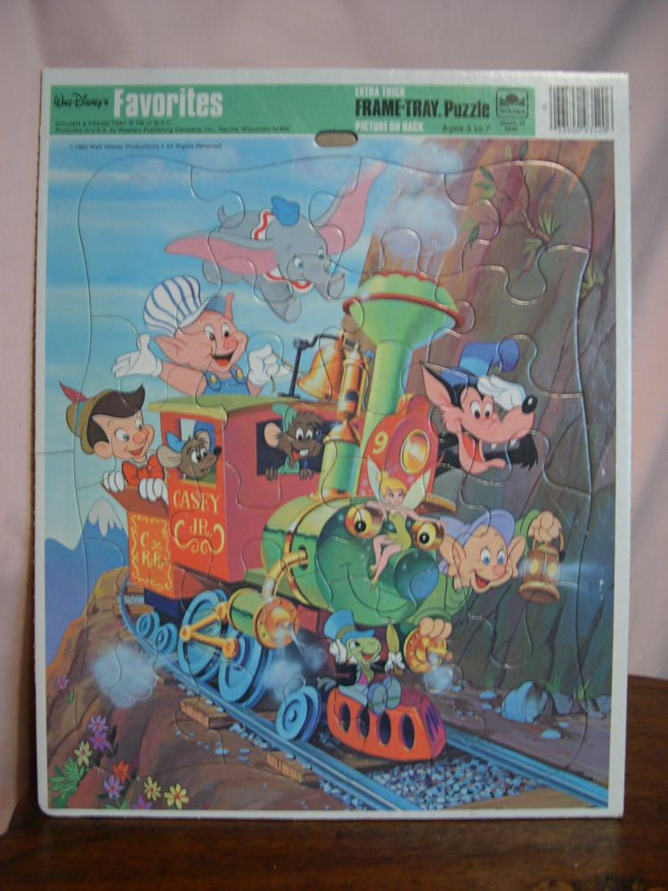WALT DISNEY FAVORITES: EXTRA THICK FRAME TRAY PUZZLE
