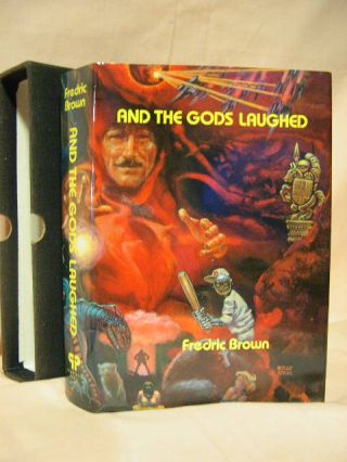 AND THE GODS LAUGHED: A COLLECTION OF SCIENCE FICTION AND FANTASY. Fredric Brown.