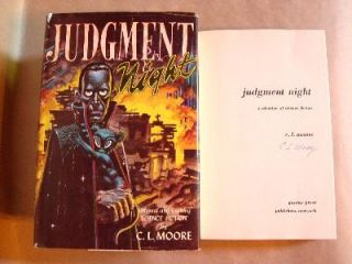 JUDGMENT NIGHT. C. L. Moore.