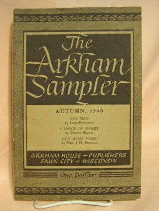 THE ARKHAM SAMPLER, VOLUME I, NUNBER 4, AUTUMN, 1948. August Derleth