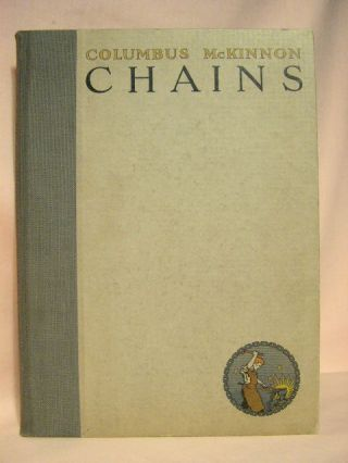 COLUMBUS-McKINNON CHAINS OF EVERY DESCRIPTION; CATALOG 16