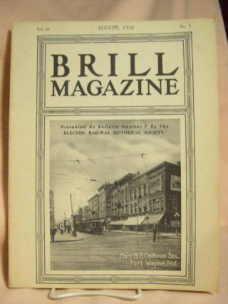 BRILL MAGAZINE; VOL. 10, NO. 8, AUGUST, 1916