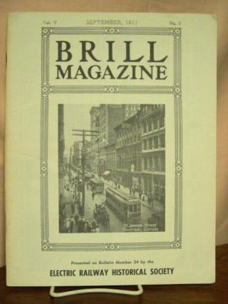 BRILL MAGAZINE; VOL. 5, NO. 9, SEPTEMBER, 1911