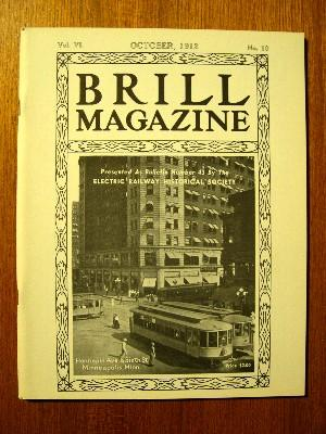 BRILL MAGAZINE; VOL. VI, NO. 10, OCTOBER, 1912