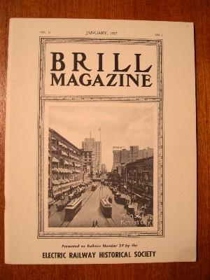 BRILL MAGAZINE, BULLETIN 37; VOL. 11, NO. 1, JANUARY, 1917