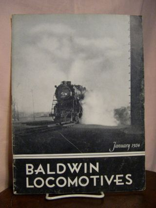 BALDWIN LOCOMOTIVES: VOLUME 12, NO. 3; JANUARY, 1934