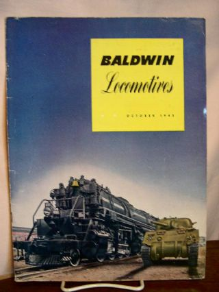 BALDWIN LOCOMOTIVES: VOLUME 20, NO. 3; OCTOBER, 1943