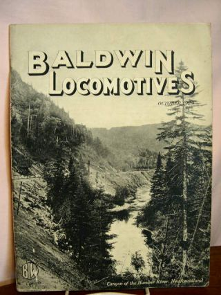BALDWIN LOCOMOTIVES: VOLUME 8, NO. 2; OCTOBER, 1929
