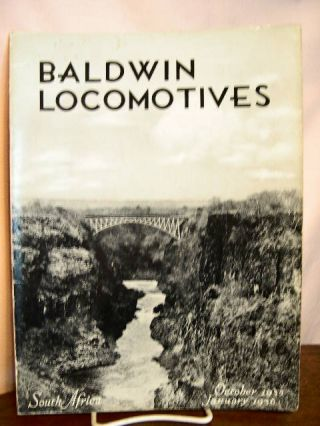 BALDWIN LOCOMOTIVES: VOLUME 14, NO. 2-3; OCTOBER, 1935 - JANUARY, 1936