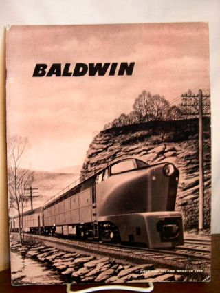 BALDWIN: VOLUME 5, NO. 1 and 2; FIRST AND SECOND QUARTER, 1949