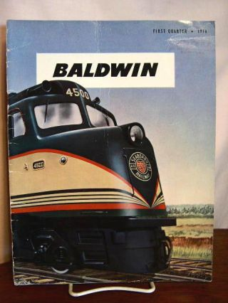 BALDWIN: VOLUME 3, NO. 1; FIRST QUARTER, 1946