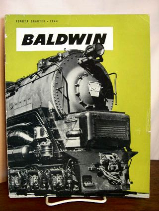 BALDWIN: VOLUME 1, NO. 4; FOURTH QUARTER, 1944