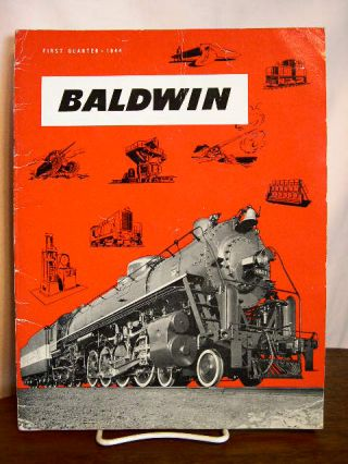 BALDWIN: VOLUME 1, NO. 1; FIRST QUARTER, 1944